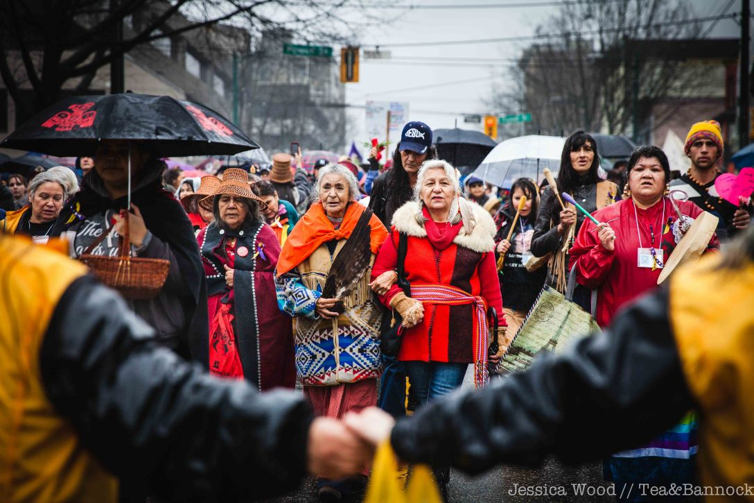 DTES Women's Memorial March led by Elders