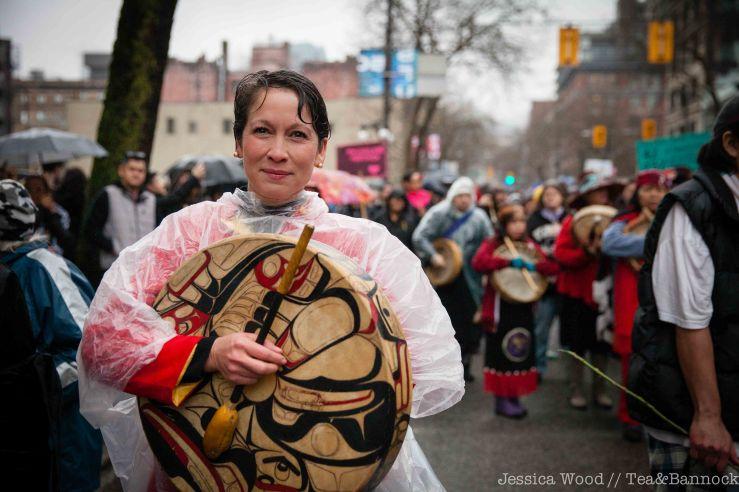 Melanie Mark at Memorial March Feb 14 2016
