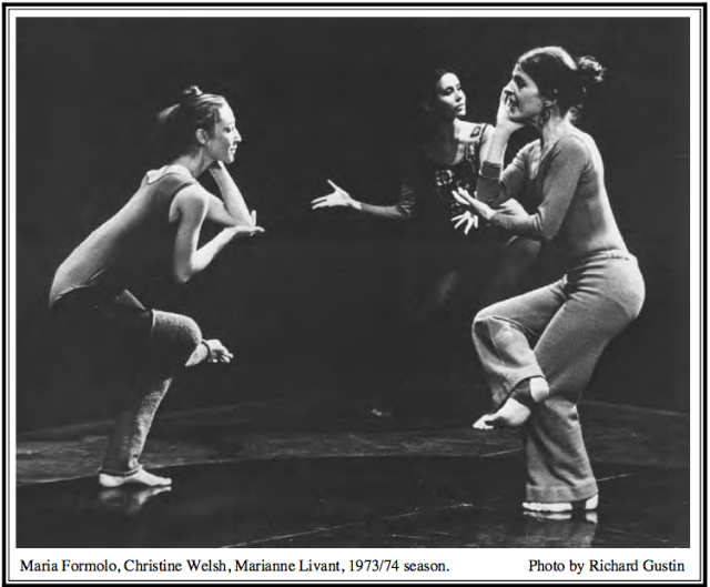 Marianne Livant's Dance Troupe 1973/74