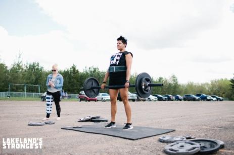 Angie Cardinal, heavyweight women's deadlift.